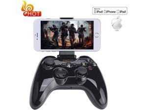 Mobile Game Controller for PUBG & Fornite, Wireless Key Mapping Shooting FightingRacing Gamepad Joystick for iOS Android iPhone iPad Samsung Galaxy Other Phone- No Simulator Needed