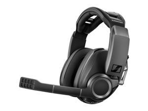 SENNHEISER GSP 670 Wireless Gaming Headset, Low-Latency Bluetooth, 7.1 Surround Sound, Noise-Cancelling Mic, Flip-to-Mute, Audio Presets, For Windows PC, PS4, and Smartphones , Black