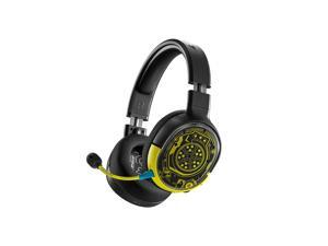 SteelSeries Arctis 1 Wireless Cyberpunk 2077 Limited Edition Gaming Headset -USB-C Wireless -Detachable ClearCast Microphone – Compatible with PC, PS4/PS5, Nintendo Switch and Lite, Android–Netrunner