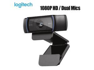 Logitech C920 HD Pro Webcam Video Chat Recording Usb Camera HD Smart 1080p 30FPS Web Camera for Computer Desktop Laptop Webcam