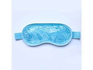 WEI&WEN Gel Bead Eye Mask (3rd Generation,comfortable and safety) For Cold and Hot Applications , Stress Relief, Migraine, Headache and Sinus Pain