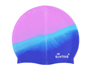 WEIWEN Unisex-Adult Swim Cap Silicone, Tough, Super Elastic, Unique Color With Sun Protection And Shade Effect