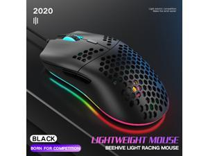 M6 E-sport Hollow Mouse Lightweight Gaming Mouse