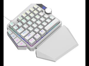 K5RGB One-hand Mechanical Keyboard Computer Host PS4 Throne Gaming Keyboard