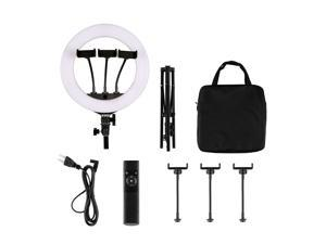 Ring Light - 14 inch 2900K-6500K Dimmable Bi-Color Light Ring, 36W LED Ring Light with Stand, Lighting Kit for Vlog, Selfie, Makeup, YouTube, Camera, Phone - LCD Screen & Remote Control