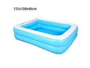 155x108x46cm Family Inflatable Swimming Pool Household Baby Wear-Resistant Thick Marine Ball Pool for Baby, Kiddie, Kids, Infant, Toddlers
