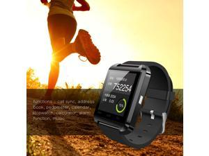 Smartwatch, Bluetooth Smart Watch U8 with Stopwatch Call Sync Touch Screen Calendar For IOS Android