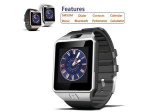 DZ09 Bluetooth Smart Watch Smartwatch for iPhone Samsung HTC Android Phone ,Passometer,Fitness Tracker,Sleep Tracker,Mood Tracker,Message Reminder,Call Reminder,Answer