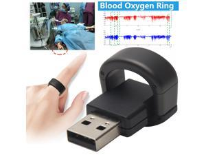 Fashion Ring Design Health Care Saturation Level Blood Oxygen Oximeter Monitor Overnight Sleep Monitor