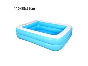 110x88x33cm Baby Marine Ball Inflatable Swimming Pool Kids Adults Household PVC Home Family Above Ground Inflatable Outdoor Swimming Pool