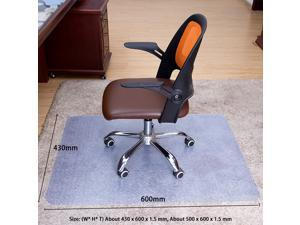 Computer Chair Mat Floor Protector Non Slip Home Office Wear Resistant Foldable