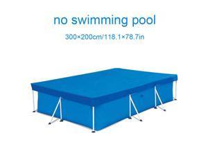 Waterproof Swimming Pool Cover Anti Dust Home Rectangular Rainproof 300*200CM