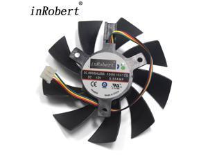 85MM FD9015U12S FY09015H12LPA 4Pin Two Ball Bearing Cooling Fan For Sapphire HD 7770 7750 HD7970 Graphics Card Cooler Fan