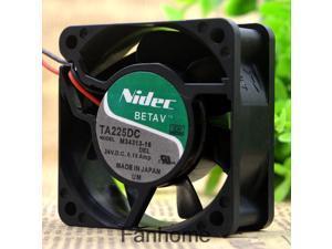 For original NIDEC TA225DC M34313-16 24V 0.16A 6CM 6025 inverter fan