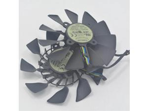 New 1 Pair T129215SU DC 12V 0.50AMP Graphics Cooler Fan For ASUS R9 290 DIRECTCU II OC Video Card