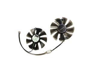 2pcs/set GeForce GTX 950 960 1050 1060 GPU Cooler Cooling Fan GA91S2H For ZOTAC GTX1050Ti X-Gaming GTX760 2GD5 HB Cards Cooling