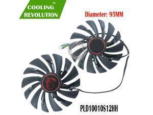 95mm PLD10010S12HH 4PIN Cooler fan For MSI GTX 960 GTX 970 GAMING GTX 950 GTX 1060 RX 470 GAMING X Graphic Card Fan