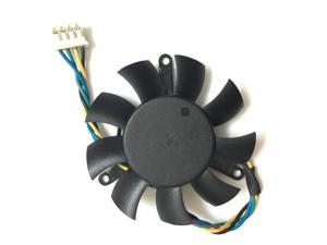 1 Diameter 45mm 0.19A 4pin Computer Graphics card cooling Fan VGA Cooler For ZOTAC 9500GT Video Card cooling