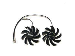 2Pcs/set FY09010H12LPB/A FDC10H12S9-C Graphics cards Fan RX480/470 GPU Cooler For HIS RX 470 RX 480 IceQ Video Card Cooling