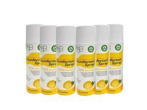 Pack of 6 PH5B Disinfectant Spray Lemon Scent Kill 99.9% Viruses & Bacteria (7.76oz each) US SELLER