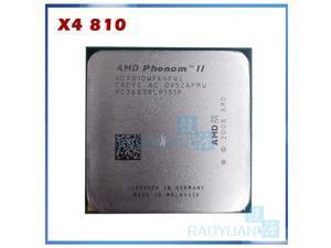AMD Phenom II X4 810(2.6GHz/4MB /4 cores/Socket AM3/938-pin)HDX810WFK4FGI Desktop CPU