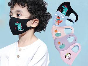 5 Pcs Anti Pollution Mask Children Dust Respirator Washable Reusable Masks Cotton Unisex Mouth Muffle Allergy / Asthma / Travel / Cycling