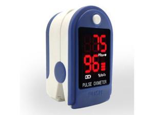 Portable Finger Pulse Oximeter LED Blood Oxygen Oximetro Heart Rate Monitor Oximetro -Blue