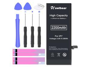uowlbear Replacement Battery for iPhone 7 A1660 A1778 A1779 with Complete Replacement Kits 0 Cycle -High Capacity 3 Year Warranty