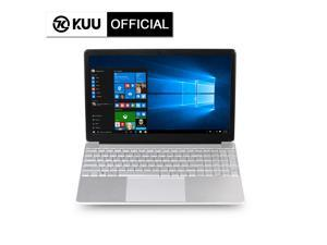 KUU-A8S 15.6inch Silver Laptop Intel Celeron Processor J3455 Up to 2.3GHz 8GB DDR3 RAM 256GB SSD Windows 10 Office Work Notebook Computer