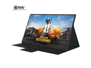 "KUU-P1 15"" Portable Monitor Full HD 1920 x 1080 IPS Screen 250cd/m2 Thunderbolt Type-C Micro HDMI Mini Monitor"