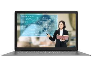 KUU-A8S 15.6inch Silver Laptop Intel Celeron Processor J3455 Up to 2.3GHz 6GB DDR3 RAM 128GB SSD Windows 10 Office Work Notebook Computer