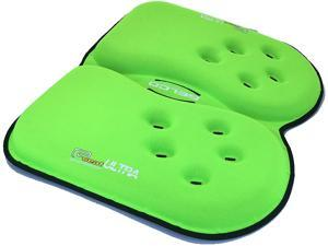 GSeat Ultra Orthopedic Gel and Foam Seat Cushion (Green) – for Coccyx, Back, Tailbone, Prostate, Postnatal, and Sciatica Pain/Discomfort – Office, Car, Chair, Travel