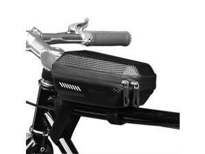 AOSTIRMOTOR Bike Frame Bag Water Resistant Bike Storage Bag Top Tube Bike Phone Mount Bag Handlebar Bags