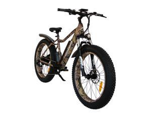 """AOSTIRMOTOR Electric Bike, 750W Motor 26""""Fat Tire Ebike, 48V 10.4AH Removable Lithium Battery Electric Mountain Bicycle for Adults S07-2-C"""