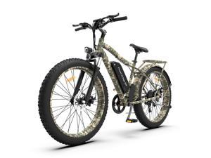 """AOSTIRMOTOR Electric Bike, 750W Motor 26""""Fat Tire Ebike, 48V 13AH Removable Lithium Battery Electric Mountain Bicycle for Adults S07-C"""