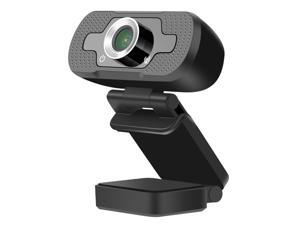 Webcam with Microphone,1080P HD Streaming USB Web Camera with Tripod,Plug and Play,for Zoom/Skype/Teams/OBS, Conferencing and Video Calling