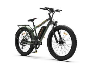 """AOSTIRMOTOR Electric Bike, 750W Motor 26""""Fat Tire Ebike, 48V 13AH Removable Lithium Battery Electric Mountain Bicycle for Adults S07-D"""