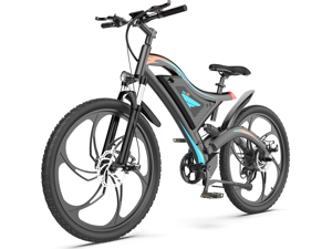 """AOSTIRMOTOR Electric Bike, 500W Motor 26""""Fat Tire Ebike, 48V 15AH Removable Lithium Battery Electric Mountain Bicycle for Adults S05-1-B"""