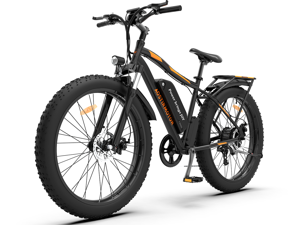 """AOSTIRMOTOR 750W Electric Bike, 26"""" Fat Tire Ebike, 7-Speed Shimano Gears, 48V 13AH Removable Lithium Battery Electric Mountain Bicycle for Adults S07-B"""