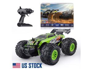 KOZYFOX Off-Road 2.4Ghz Remote Control Car High Speed Racing Indoor & Outdoor 1:18 RC Bigfoot Monster Truck Truggy Car Racing Children's Gifts for Boys & Girls