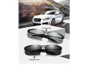 KH Change Color Photochromic Sunglasses Men Women Titanium polarized Sun Glasses Chameleon Driving