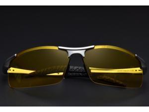 KH Night Driving Glasses for Night Glasses Polarized HongKong Famous Brand KH Night Vision Male Sunglasses Driver Goggles