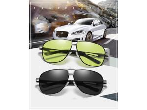 KH Change Color Day and Night Driving Glasses Polarized HongKong Famous Brand KH Night Vision Men Driver Goggles