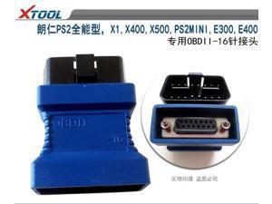 Xtool PS2 OBDII-16 Connecter for X1 PS2MINI E300 E400 X400 X500 X6 PS80 OBD II Adaptor Diagnostic OBDII Obd2 Adapter