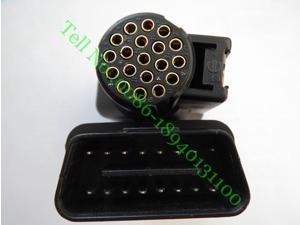 ForG M TECH2 OBD II 16 PIN OBD2 Adapter With No. 3000098 OBD 2 Connector OBDII Auto Scanner Adaptor OBD-II 3000098 VTX 02002955
