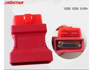 OBDSTAR OBDII-16 Adaptor for X100+ X200 X300PRO OBD II Connecter OBD 2 OBD-II Adaptor OBDII Obd2 Adapter OBD2 Connector OBDII