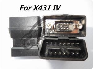 for Launch X431 Smart OBD I II DLC 16E Adapters EOBD Connector 431 Auto Diag IDIAG DIAGUN III IV V PRO 5C V+ Adapter