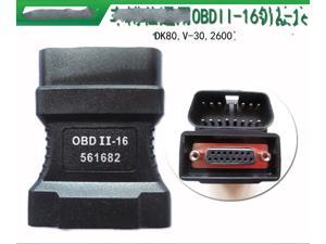 100% For Autoboss v30 16 pins OBD II Adapter Car Diagnostic Obd2 Connecter OBD-II Adaptor Connector 16pin connector DK80 2600+