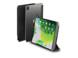 Case/Bracket/HUB Compatible iPad 10.9/11/12.9inch Magnetic Detachable Cover, Trifold Stand with Type C, Grey