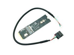 M.2 M-Key to A + E Key NGFF Slot Wifi Wireless Network Card M.2 NGFF PCI Express to E Key Card M-Key to A-E Key M.2 Wifi Adapter